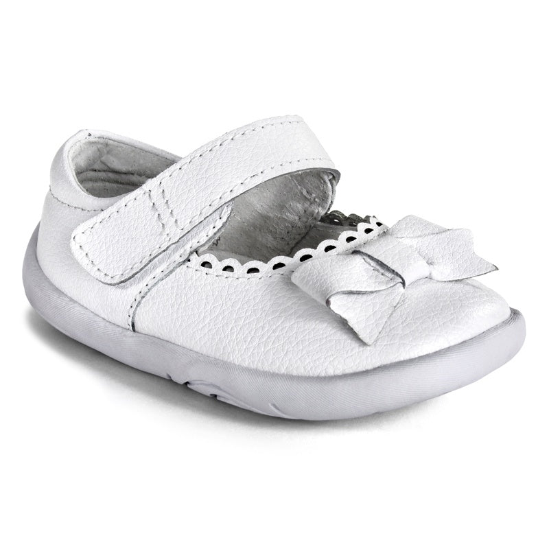 PEDIPED - Chaussures cuir souple Grip'n'Go Betty - White