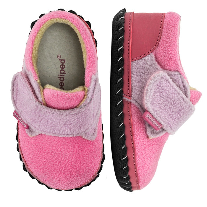 Pediped - Chaussures cuir souple originals Buddy Pink