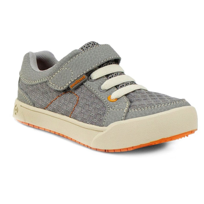 PEDIPED - Chaussures cuir souple Pediped Flex Dani - Grey Orange