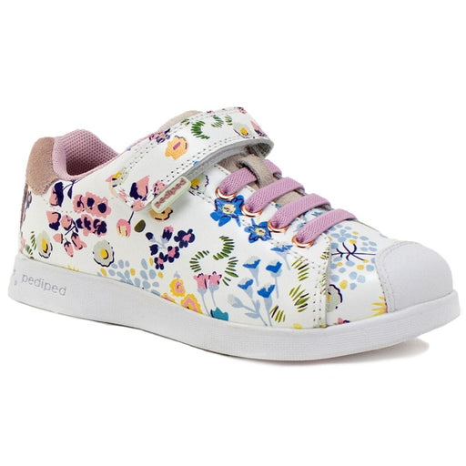 PEDIPED - Chaussures en cuir souple Pediped Flex jake - White Floral