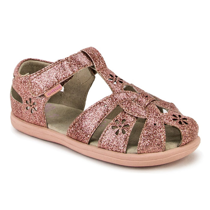PEDIPED - Chaussures souples cuir Flex Nikki - Rose Gold