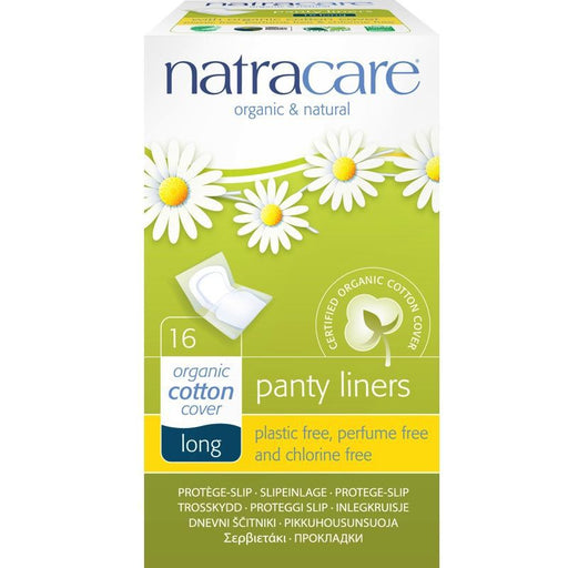 NATRACARE - Protèges-slip Long coton bio  Natracare emballage individuel