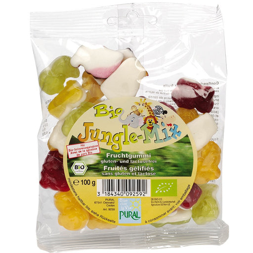 PURAL - Bonbons gélifiés bio Jungle Mix