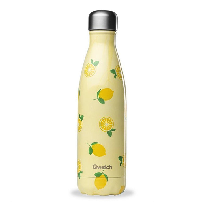 QWETCH - Bouteille isotherme 500 ml - Fruits Citrons