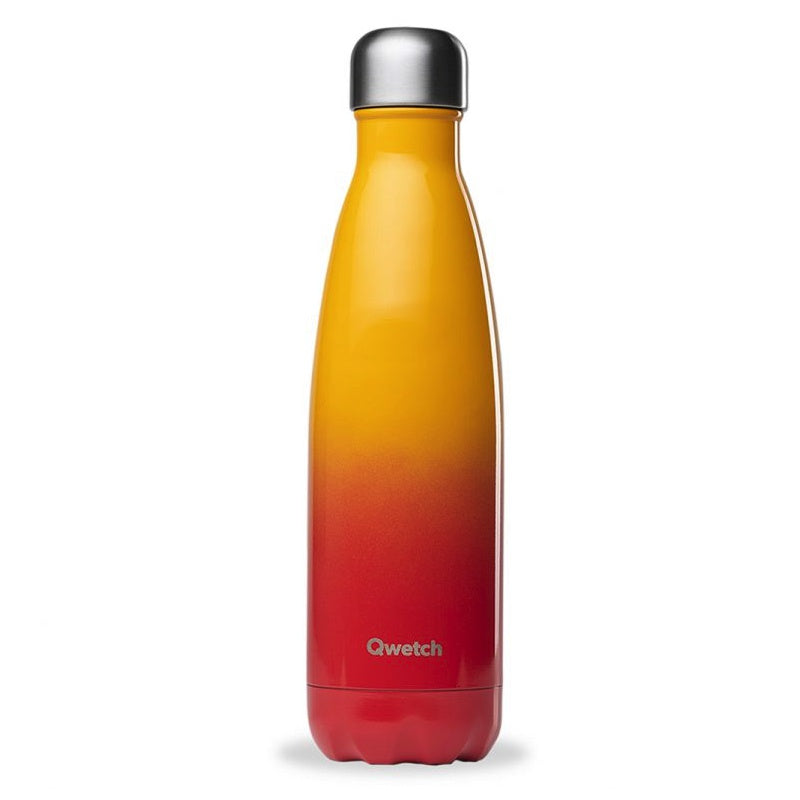 QWETCH - Bouteille isotherme 500 ml - Sunset