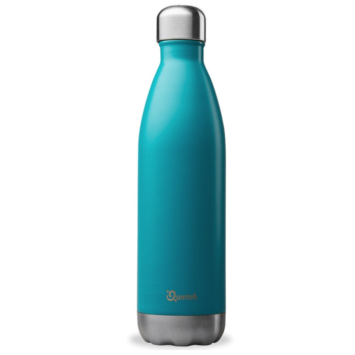 Qwetch - Bouteille isotherme 750 ml - turquoise