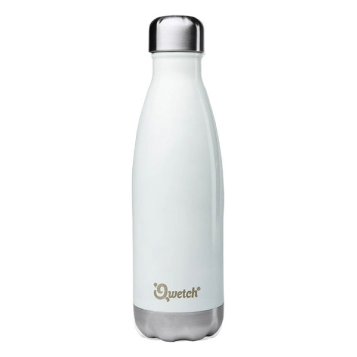 Qwetch Blanc Bouteille Brillant Isotherme Ml Nomade 500 m0O8ynvNw