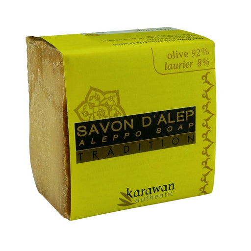 KARAWAN - Savon d'Alep Tradition 8% Laurier