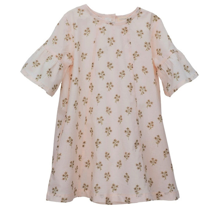SERENDIPITY - Robe Sleeve Lily - Flower Print