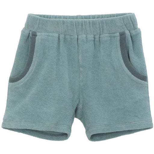 SERENDIPITY - Short coton bio - Lake blue