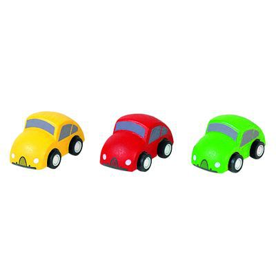 PLANTOYS - Set de 3 mini voitures