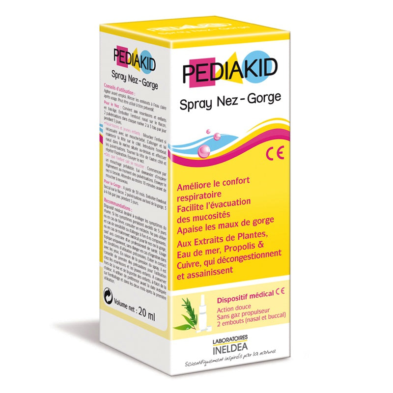 PEDIAKID - Spray Nez-gorge Pediakid