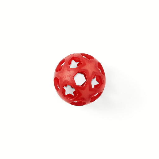 HEVEA - Star Ball en caoutchouc naturel - Rouge