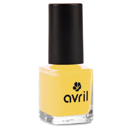 AVRIL - Vernis à ongles 7 free - Jaune Curry