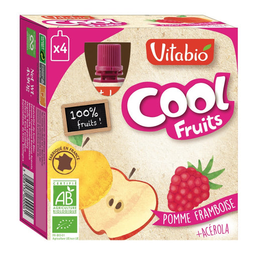 Vitabio - Cool Fruits bio Pomme Framboise