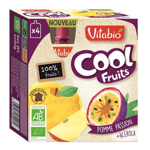 Vitabio - Cool Fruits bio Pomme Passion