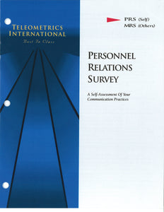 Self-Survey>> Management Of Motives (MMI)