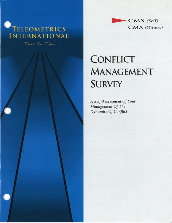 Self-Survey>> Conflict Management Survey (CMS)