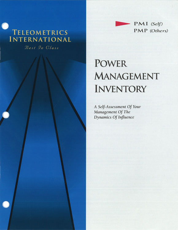 Self-Survey>> Power Management Inventory (PMI)