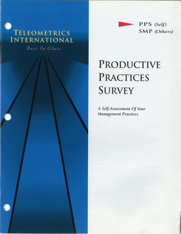 Self-Survey>> Productive Practices Survey (PPS)