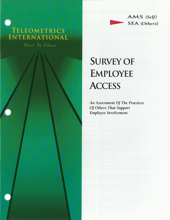 Self-Survey>> Access Management Survey (AMS)