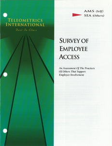 Co-Worker Feedback>> Survey of Employee Access (SEA)