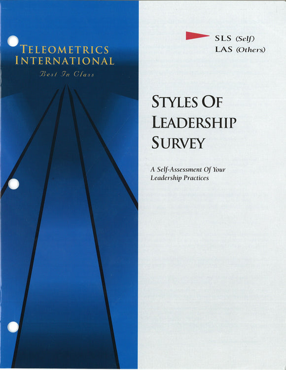 Self-Survey>> Styles of Leadership Survey (SLS)