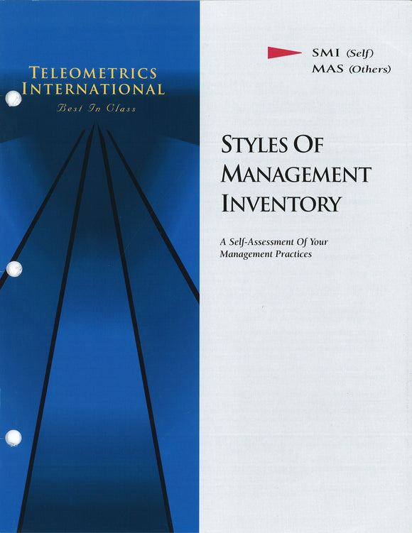 Self-Survey>> Styles of Management Inventory (SMI)