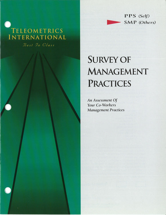 Co-Worker Feedback>> Survey of Management Practices (SMP)