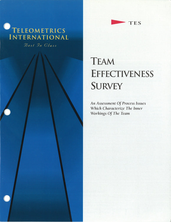 Group Survey>> Team Effectiveness Survey (TES)