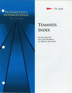Self-Survey>> Teamness Index (TI)