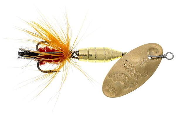 Panther Martin Pan Lure Deluxe Fly 1/32oz  -Orange