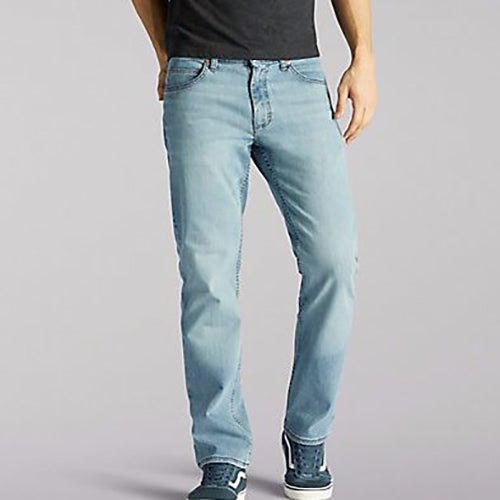 Lee Men's Regular Fit-Straight Leg Jeans -Winston-
