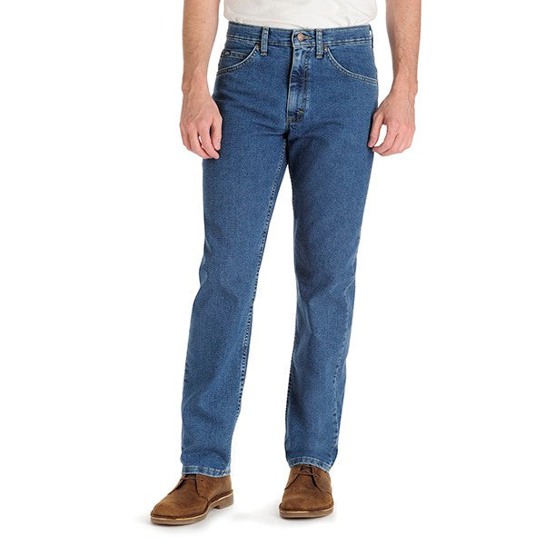 Lee Men's Regular Fit Straight Leg Stretch Jeans-