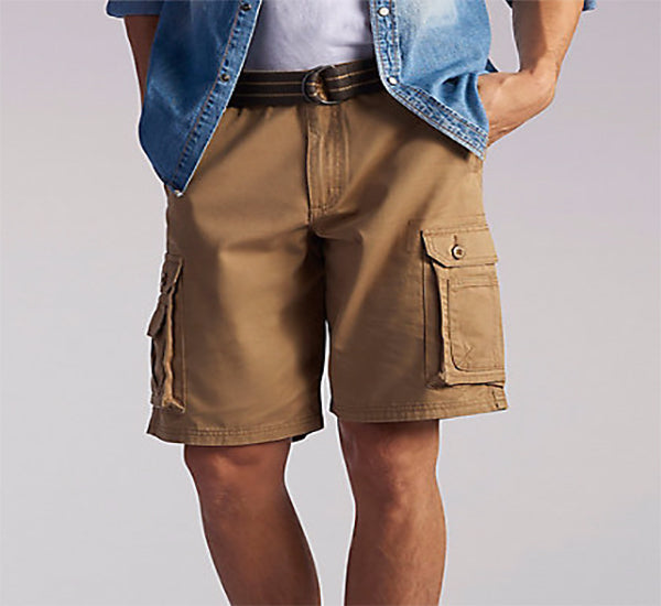 Lee Big & Tall Wyoming Cargo Short -Bourbon-