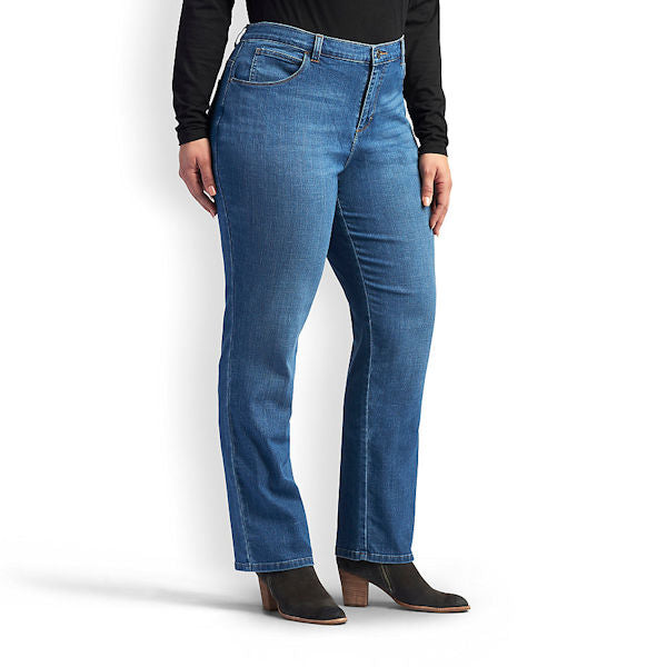 Lee Women's Relaxed Fit Straight Leg Jeans