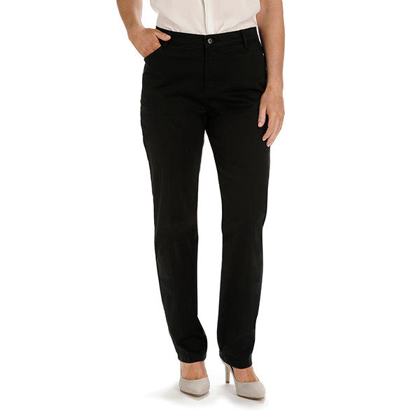 Lee Women's Relaxed Fit All Day Pant -Black-