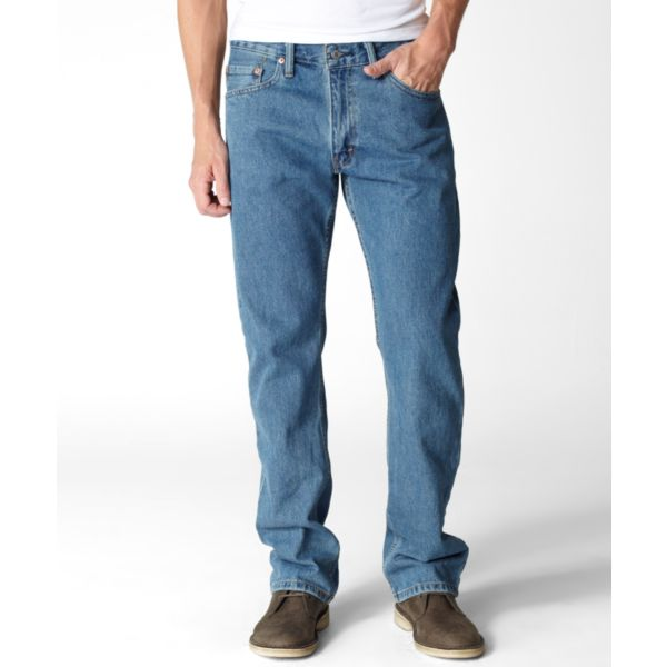 Levi's Men's 505 Regular Fit Jeans -Stonewashed-