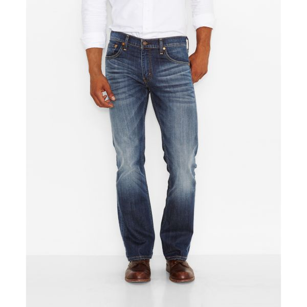 Levi's Men's 527 Slim Bootcut Jeans -Wave Allusion