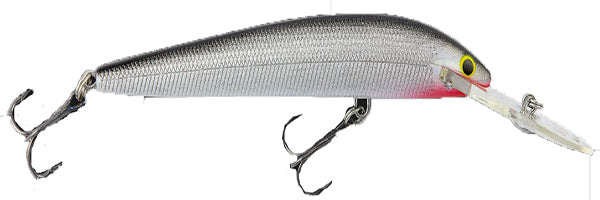 Bagley Deep Diving Minnow B -Silver-