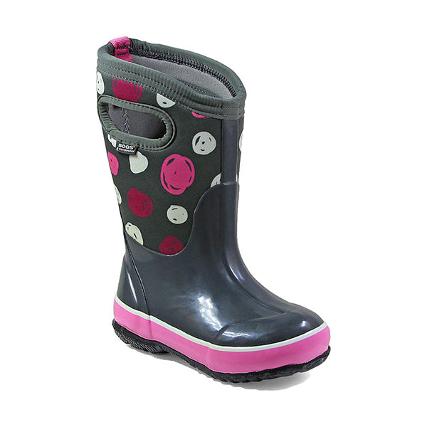 Bog's Kid's Classic Sketched Dots Insulated Boots