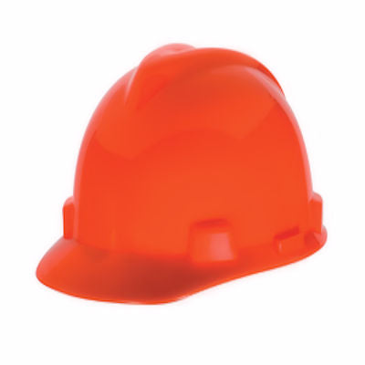 Broner HiViz Hard Hat -Bright Orange-