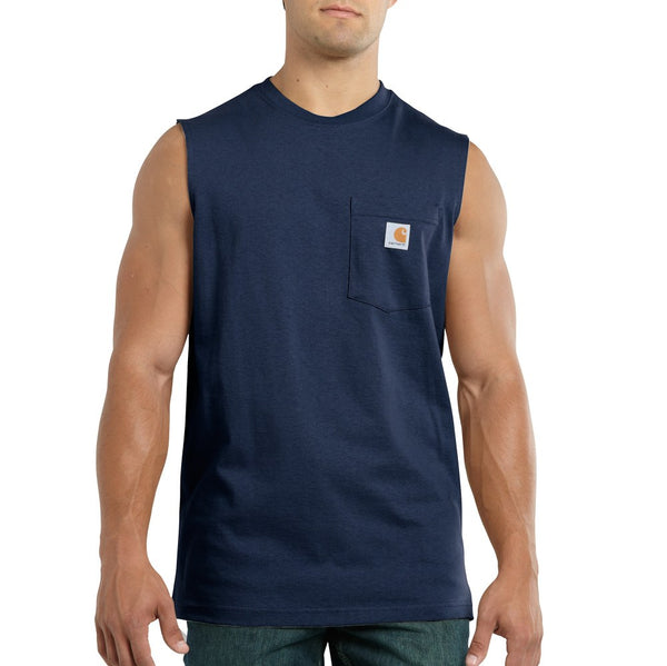 Carhartt Men's Workwear Pocket Sleeveless Tee
