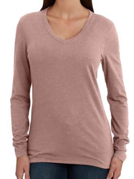 Carhartt Women's Lockhart V-Neck Tee