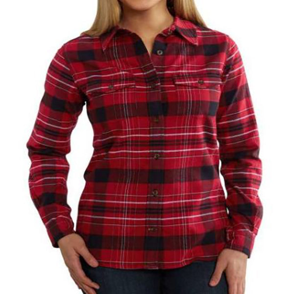 Carhartt Women's Rugged Flex Hamilton Shirt -Dark