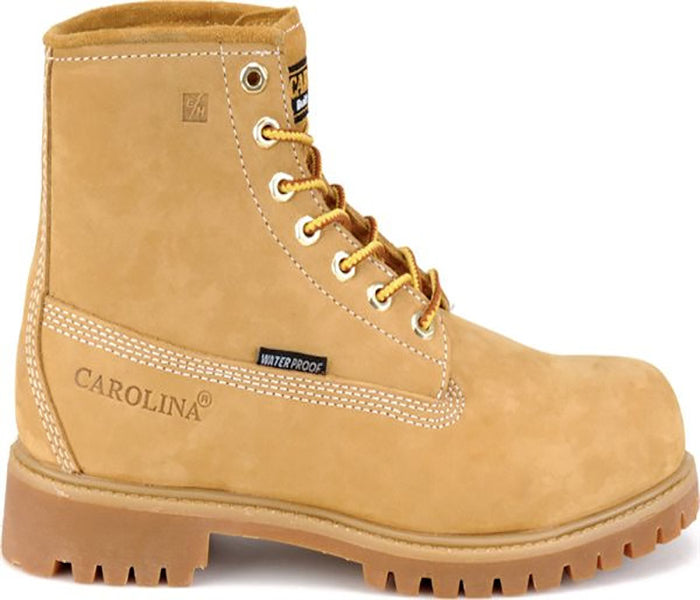"""Carolina Men's 6"""" Waterproof Work Boot -Wheat-"""