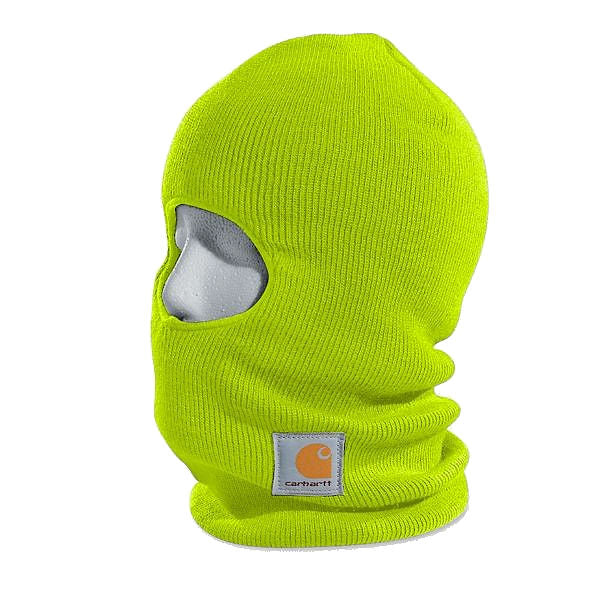 Carhartt Men's Face Mask--Brite Lime