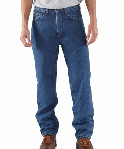 Carhartt Men's Relaxed-Fit Fleece Lined Jeans