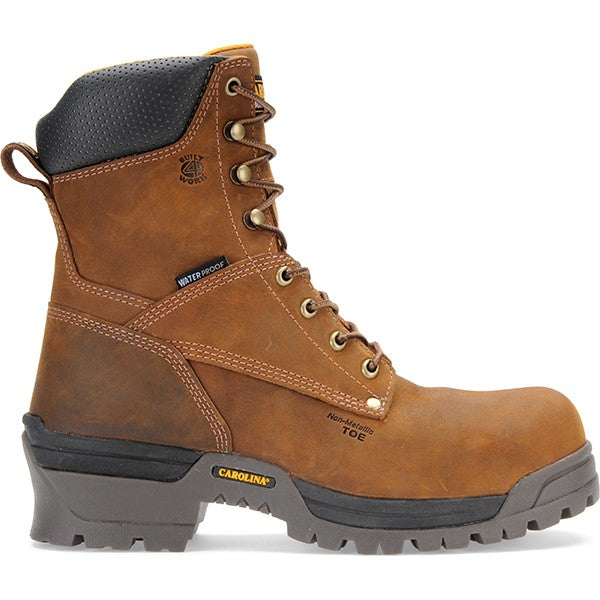 "Carolina Men's 8"" Broad Toe Logger Work Boot"