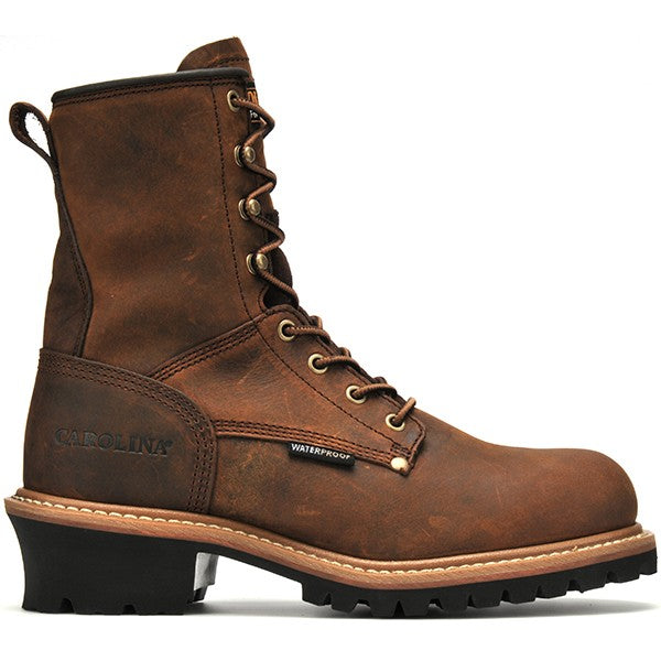 "Carolina Men's 8"" ST WP Logger Work Boot"
